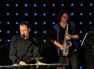 Birgit mit Saxophon